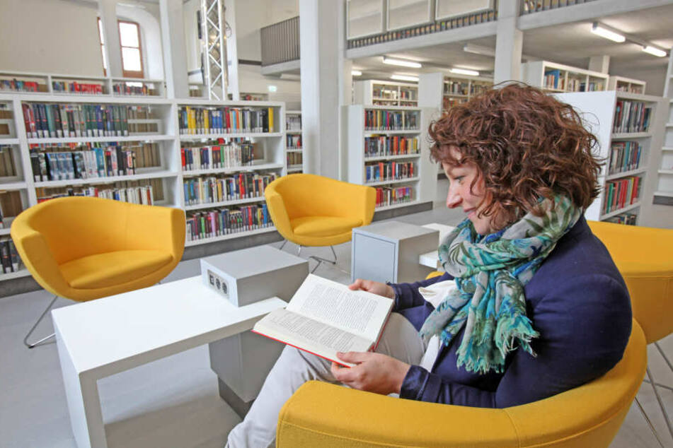 In die neue Stadtbibliothek werden etwa 600 000 Euro investiert.