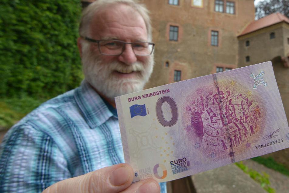 Nichts wert? Hier gibt es wieder 0-Euro-Scheine