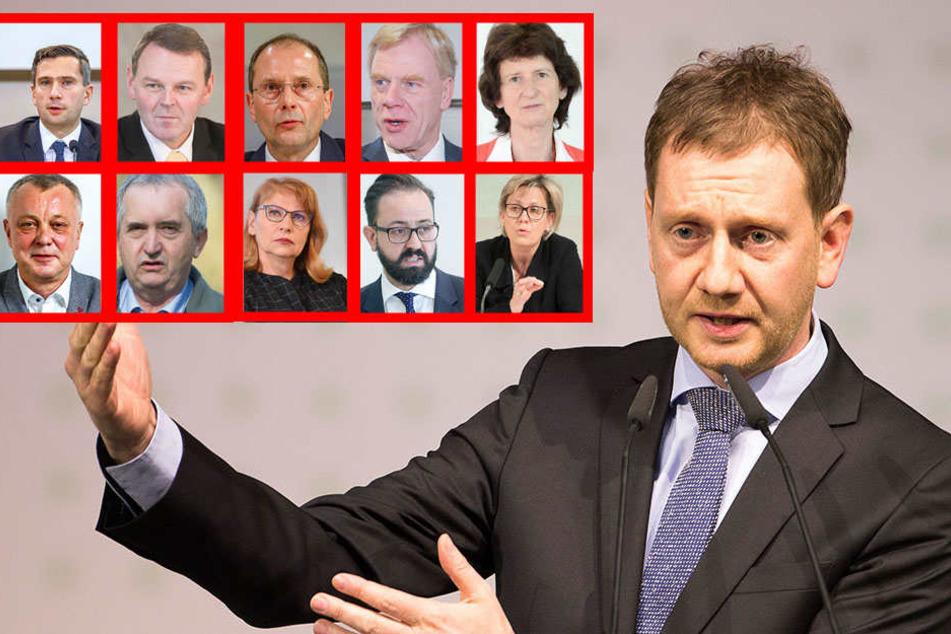 Wer bleibt, wer geht? Minister-Roulette in Sachsens neuer Regierung