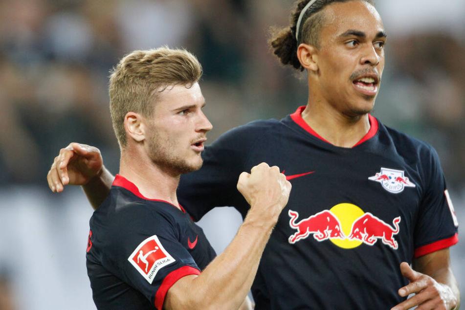 Timo Werner steht jetzt bei vier Toren nach drei Bundesligaspielen.