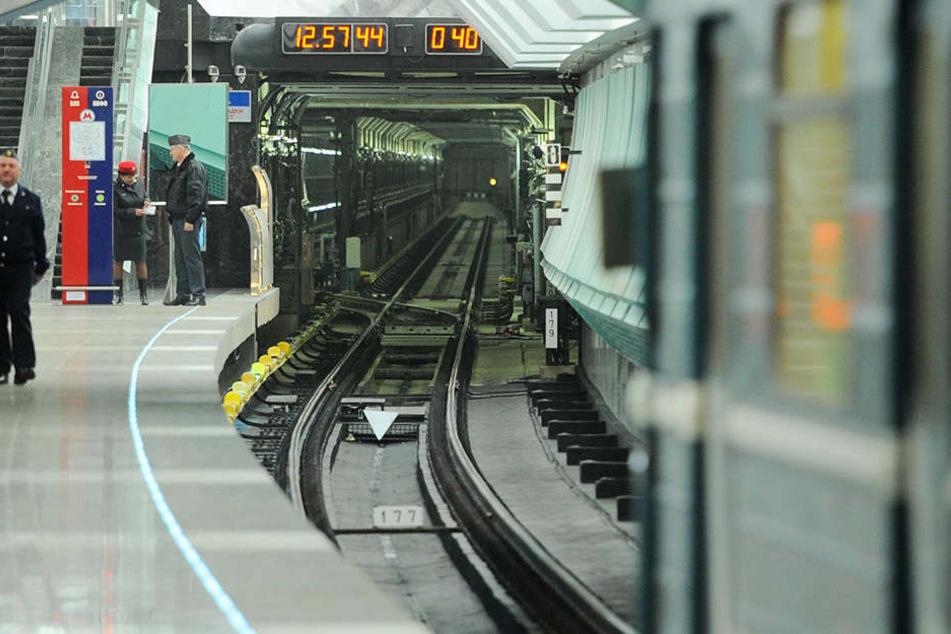 Mehrere Bahnhöfe in Russland wurden wegen einer Bombendrohung geräumt. (Symbolbild)