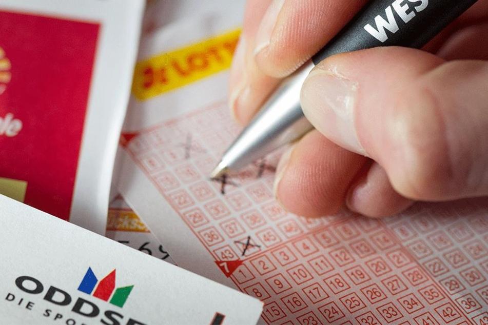 Mit falsch ausgefülltem Lottoschein 800.000 Euro gewonnen
