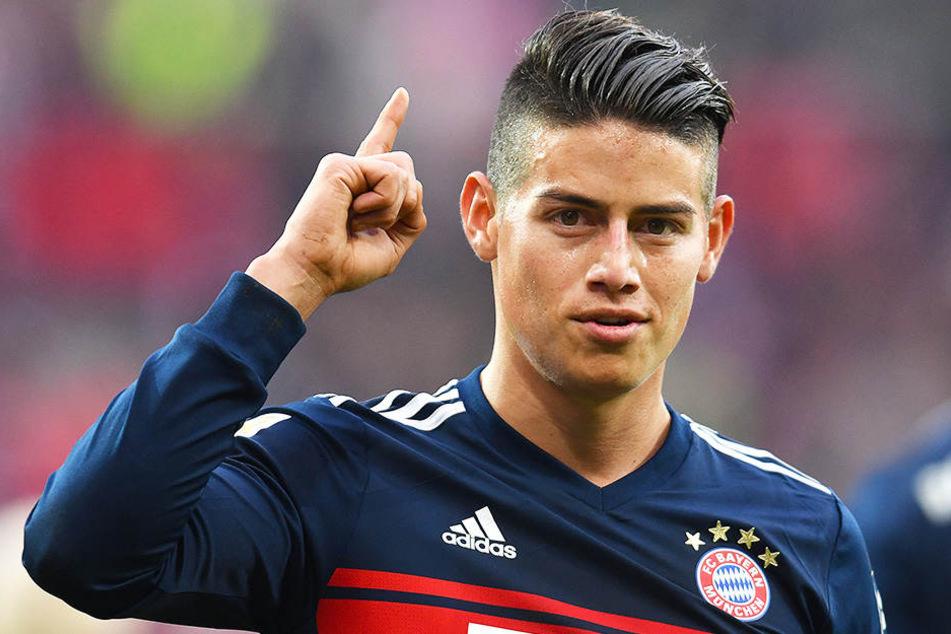 Achtung: James Rodriguez muss 11,65 Millionen Euro