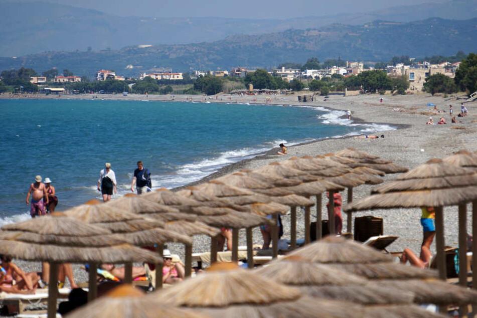 An einem Strand auf Kreta ertranken die Eltern, beim Versuch ihre Kinder zu retten. (Symbolbild)