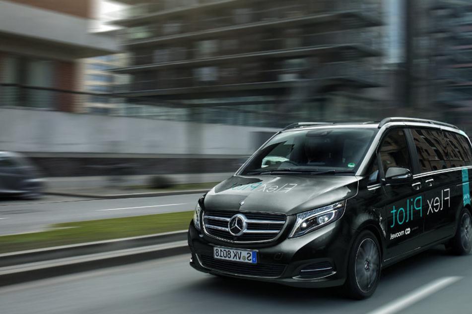 Daimler-Tochter Moovel testet ein System für flexible Fahrgemeinschaft