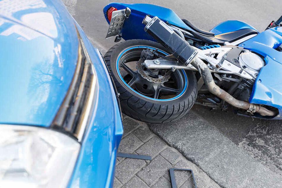 Immer mehr Motorrad-Unfälle enden tödlich.