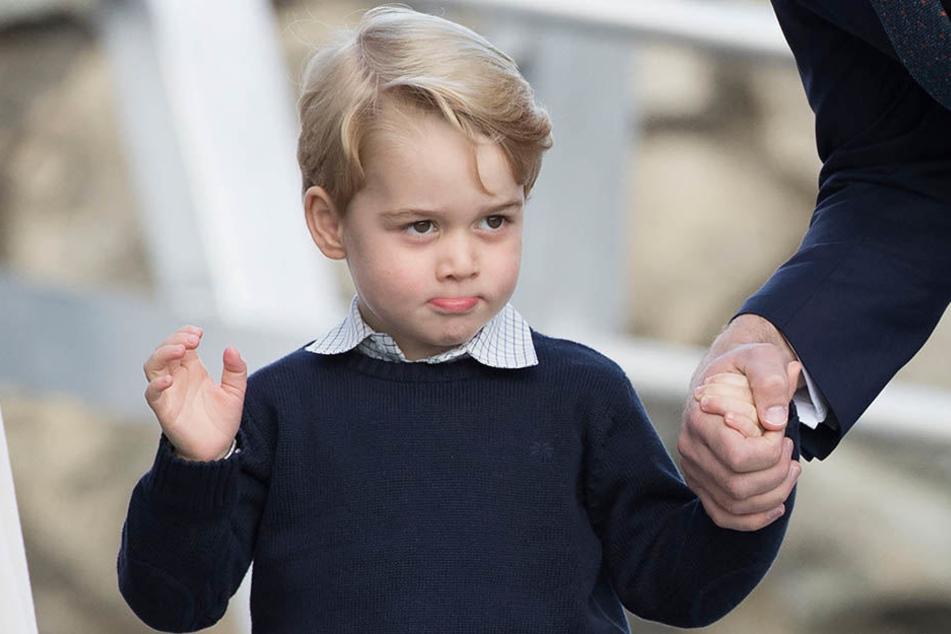 Vielleicht ist George of Cambridge (5) bald britischer König. Im Moment ist das Kind aber noch ein kleiner Junge.