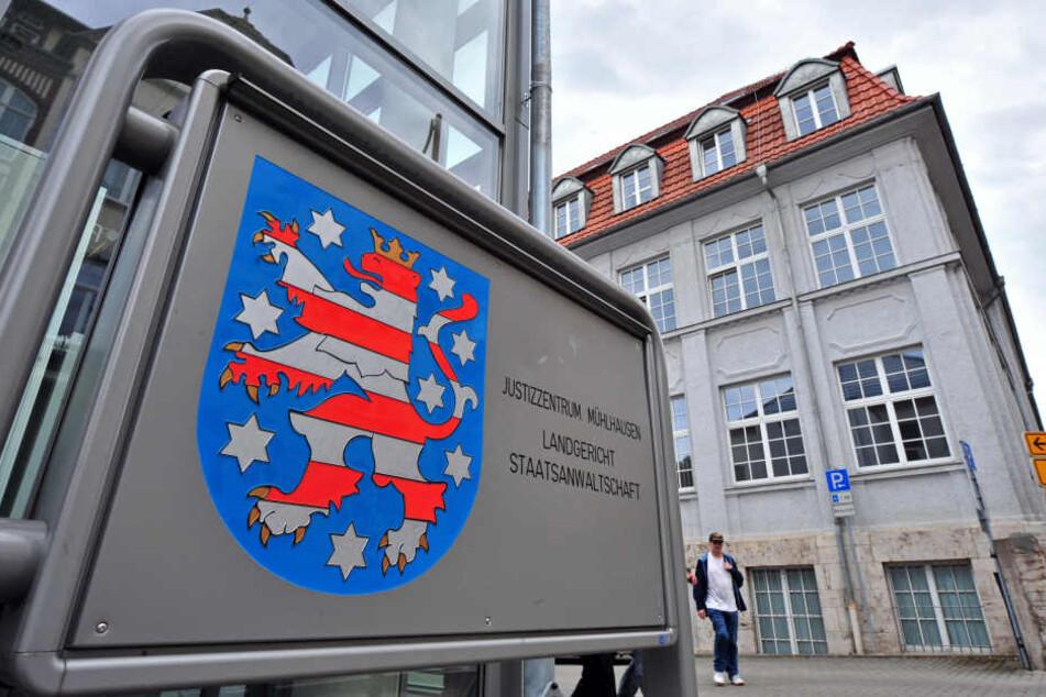 Vor dem Landgericht in Mühlhausen wird der Fall verhandelt.