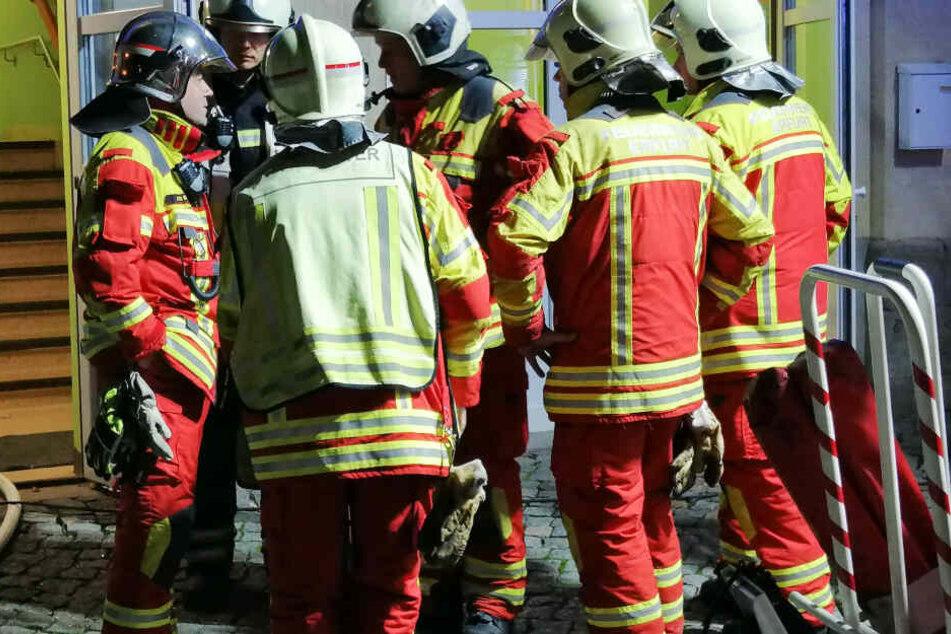 Die Feuerwehr konnte schlimmeres verhindern und das Feuer löschen.