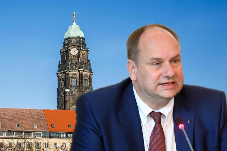 Oberbürgermeister Dirk Hilbert (48, FDP) wird Führungsschwäche vorgeworfen.