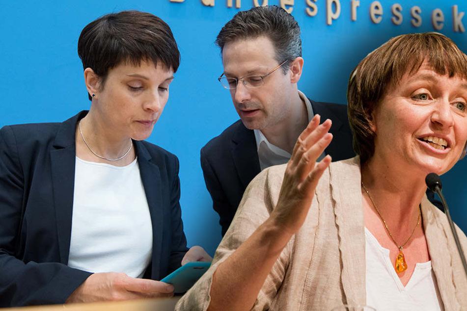 Grünen-Chefin aus NRW wirft AfD Wählertäuschung vor