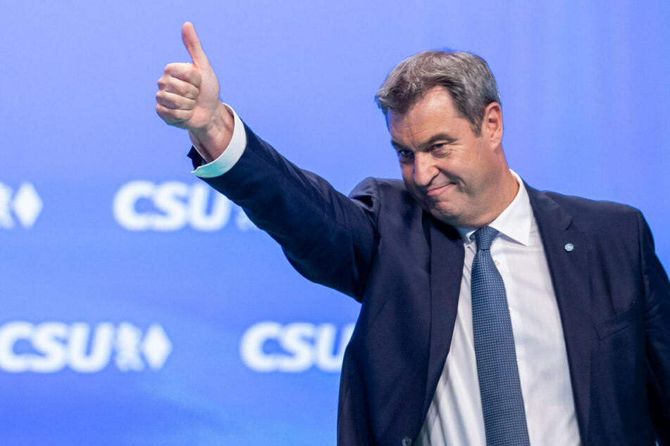 Bayerns Ministerpräsident Markus Söder (54) gibt sich wenige Tage vor der Wahl demonstrativ optimistisch.
