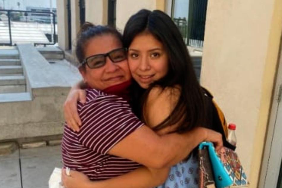 Endlich wiedervereint: Angelica Vences-Salgado (l.) hat ihre Tochter, Jacqueline Hernandez, zurück!