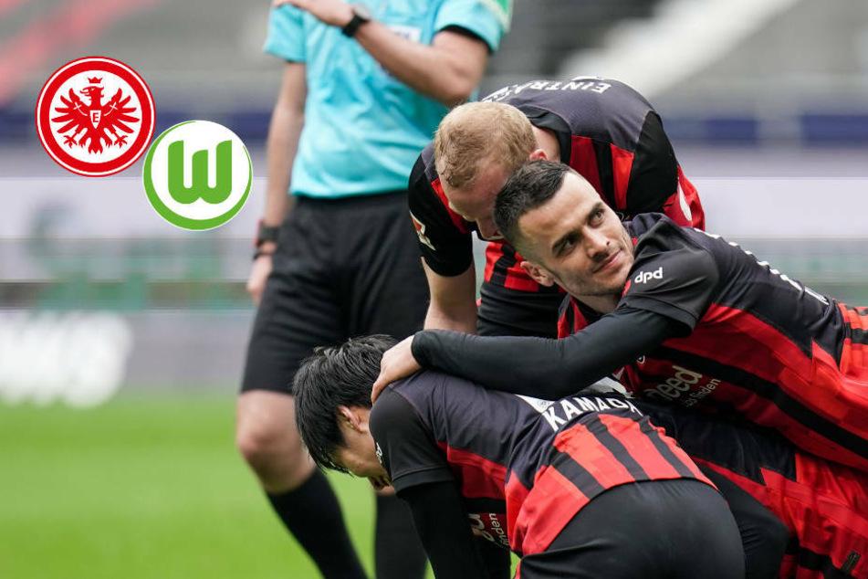 Irres 7-Tore-Spektakel! Eintracht Frankfurt besiegt VfL Wolfsburg