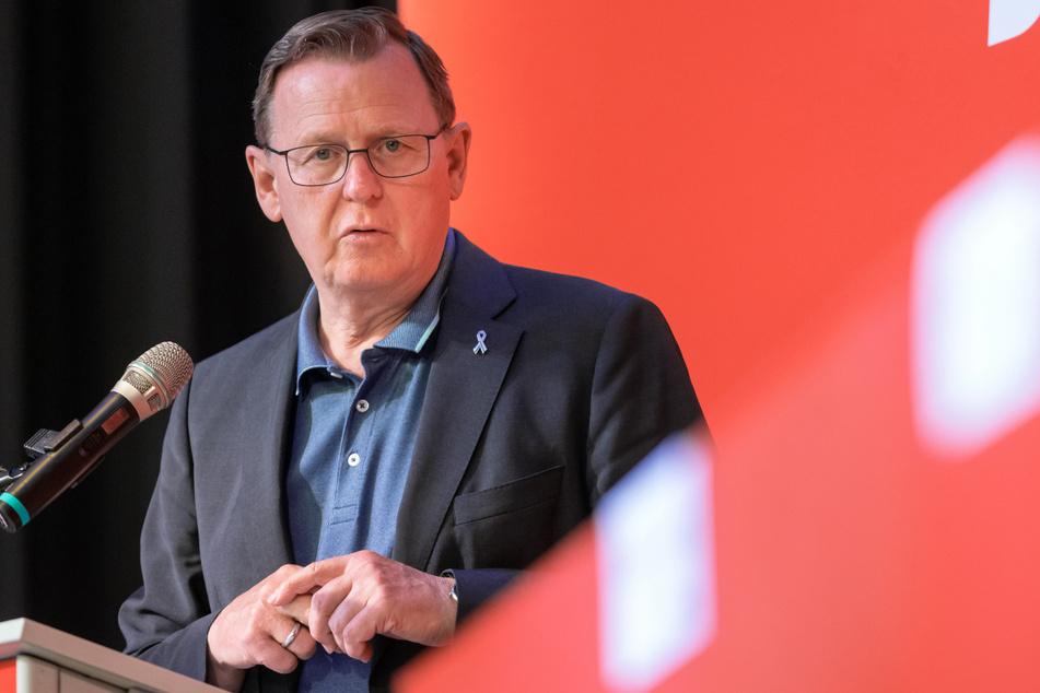 Thüringens Ministerpräsident Bodo Ramelow (65, Linke) will nach dem Unwetter die betroffenen Gebiete unterstützen.