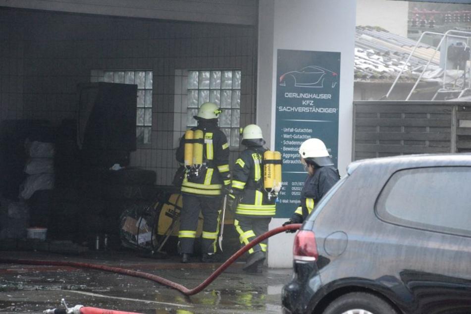 Der Schaden wird auf mehrere 100.000 Euro geschätzt.
