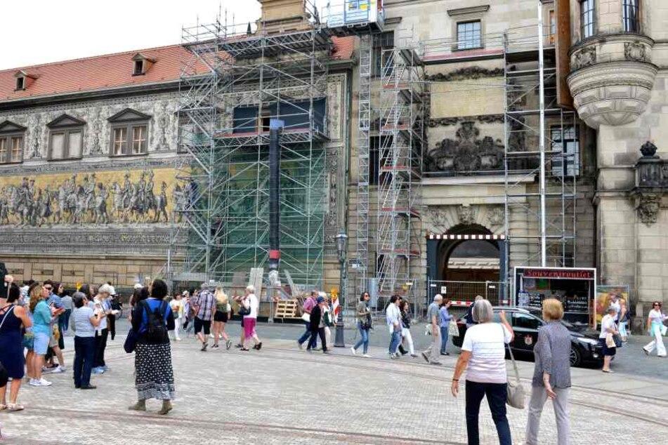 Dresdner Residenzschloss: Der alte Glanz kommt endlich wieder