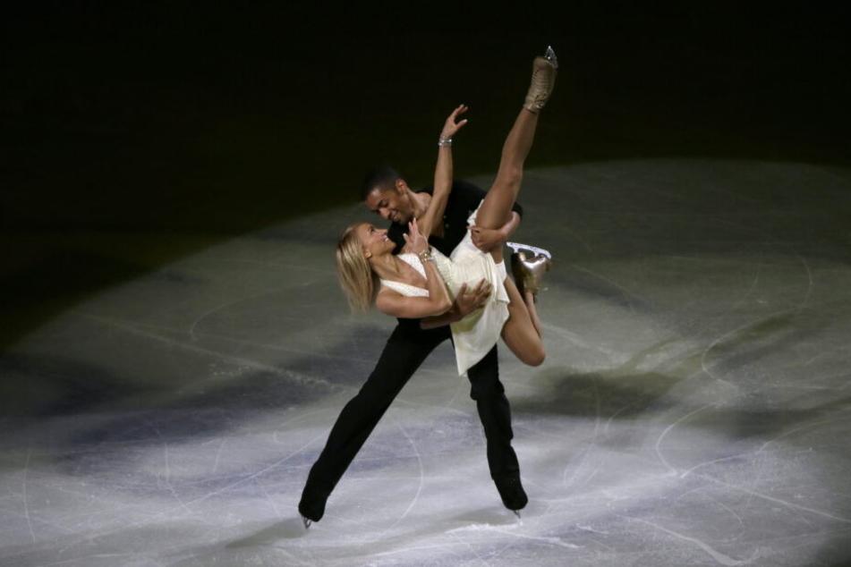 Zusammen mit seiner früheren Partnerin Aljona Savchenko holte Robin Szolkowy fünf Weltmeistertitel.