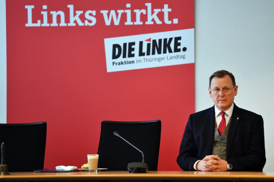 Rot-Rot-Grün trifft sich Nach Wahl-Debakel in Thüringen mit CDU