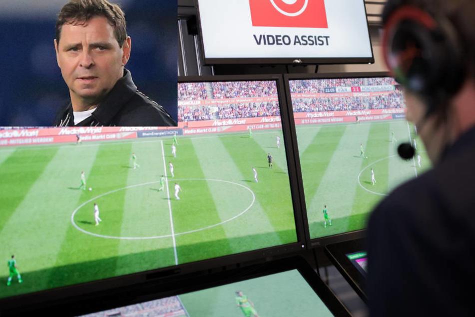 Ex-Referee Heynemann spricht sich auch gegen einen Einsatz des Video-Beweises bei der WM 2018 aus.