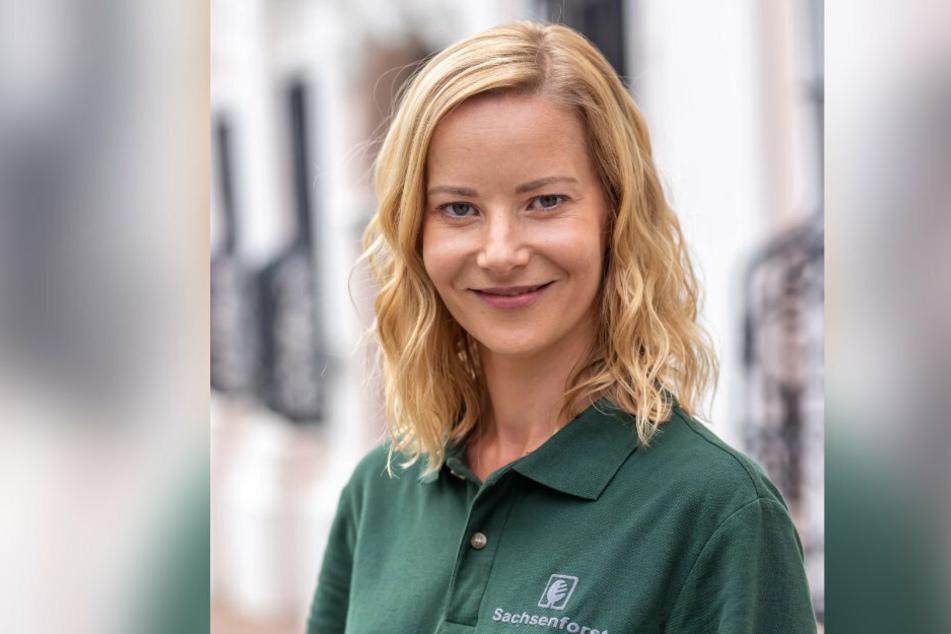Schauspielerin Teresa Weißbach dreht derzeit im Erzgebirge. Mitte August ist sie im Zoo der Minis.