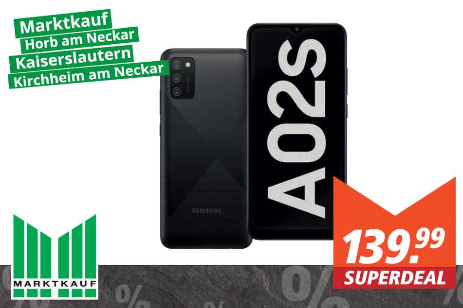 Samsung Galaxy A02S für 139,99 Euro
