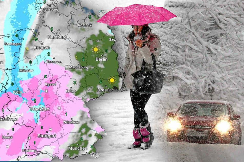 Wetterdienst warnt vor schweren Sturmböen und 30 Zentimeter Neuschnee!