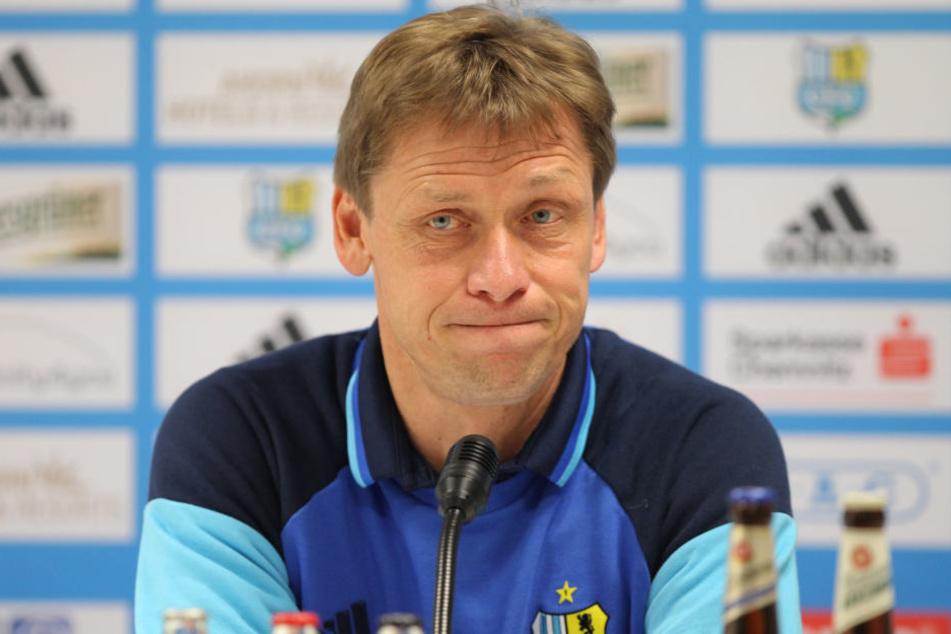 CFC-Coach Sven Köhler muss gehen.