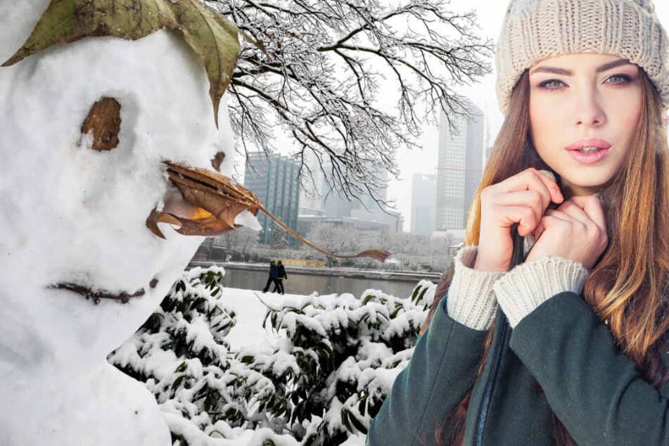Weiße Weihnachten in Frankfurt kommen nur äußerst selten vor (Symbolbild).