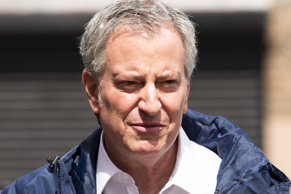 Bill de Blasio (58), Bürgermeister von New York.
