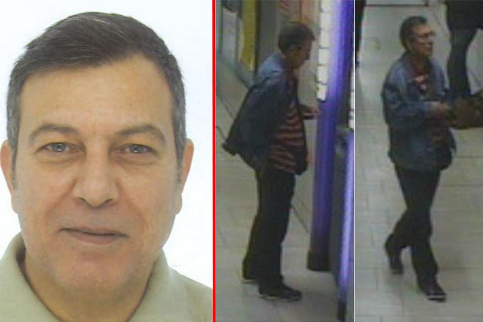Mit diesen Bildern fahndet die Polizei nach dem flüchtigen Tatverdächtigen Faruk K. (56).