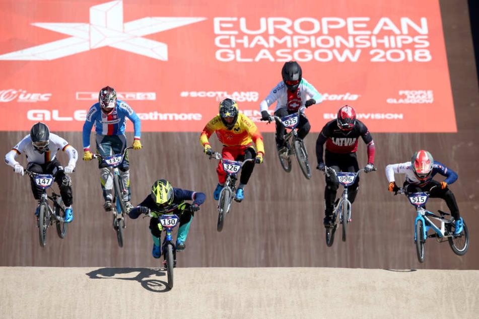 Die Europameisterschaften im Radsport sind ebenfalls ein Teil des Großereignisses.
