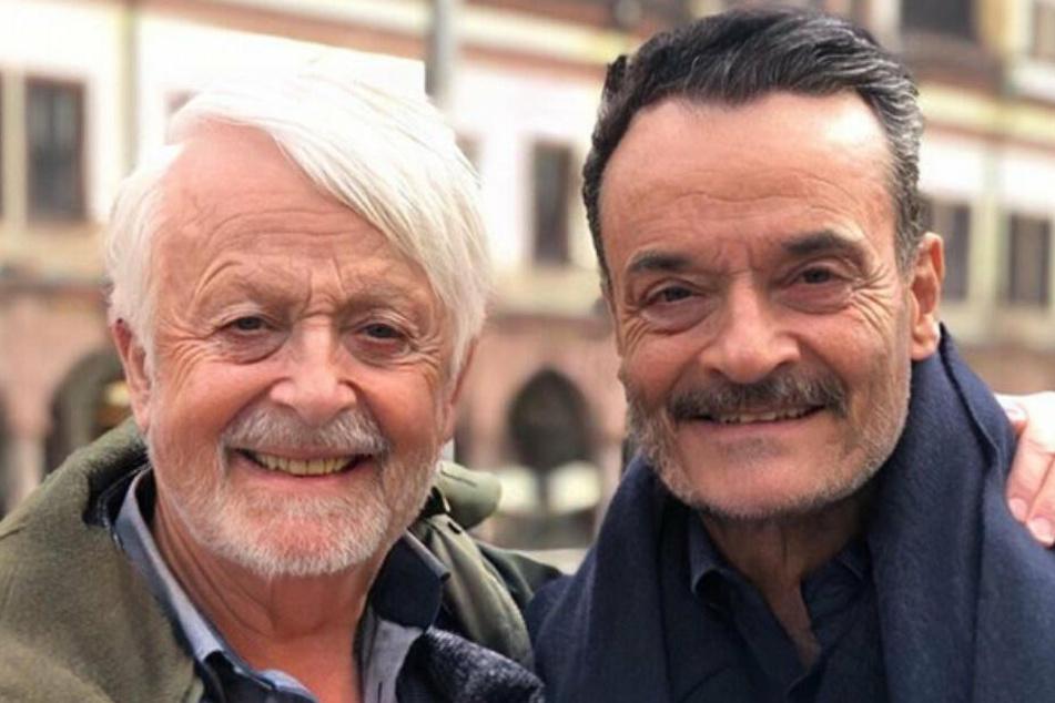 Opa Ross und Herr Zarrella.