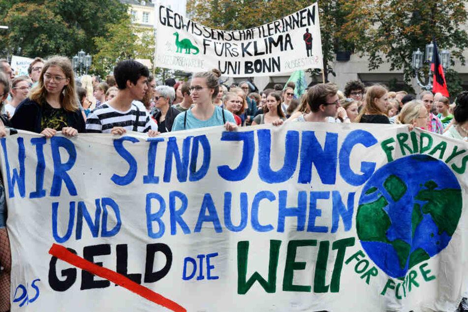 Die Klimastreiks an Schulen zeigen ein wachsendes politisches Interesse.