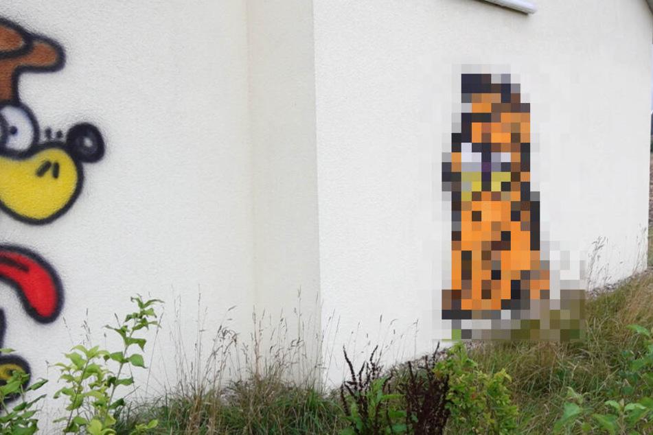 Was will uns der Künstler sagen? Graffiti-Welle gibt Rätsel auf