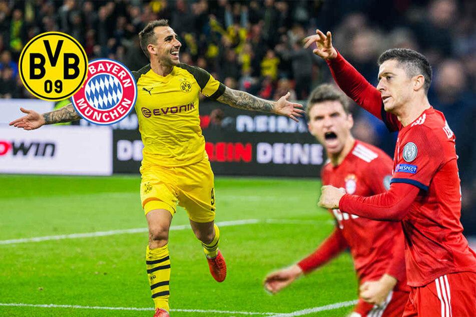 BVB gegen Bayern: Heute steigt der Deutsche Clásico