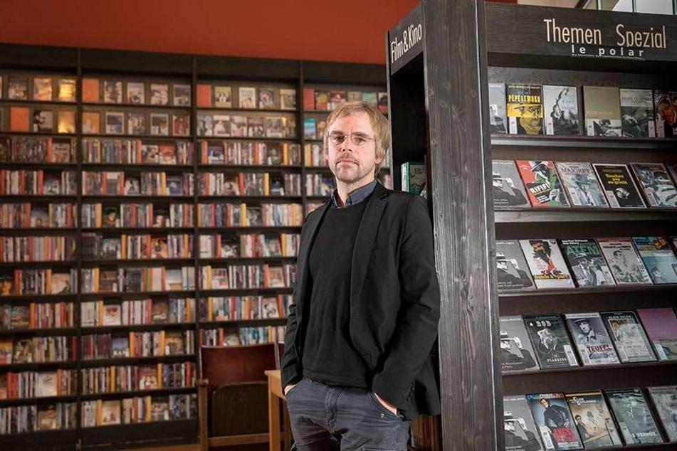 Muss die Phase IV bald dicht machen? Inhaber Sven Voigt (43) will seine Videothek nicht aufgeben.