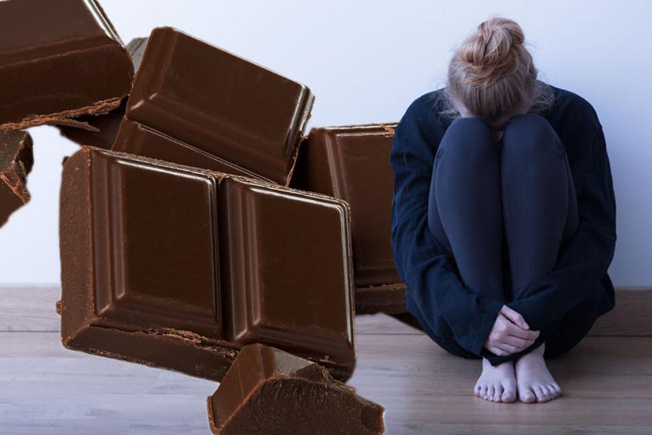 Schokolade lindern eventuell für einen kurzen Augenblick, doch langfristige Heilung verspricht sie nicht.