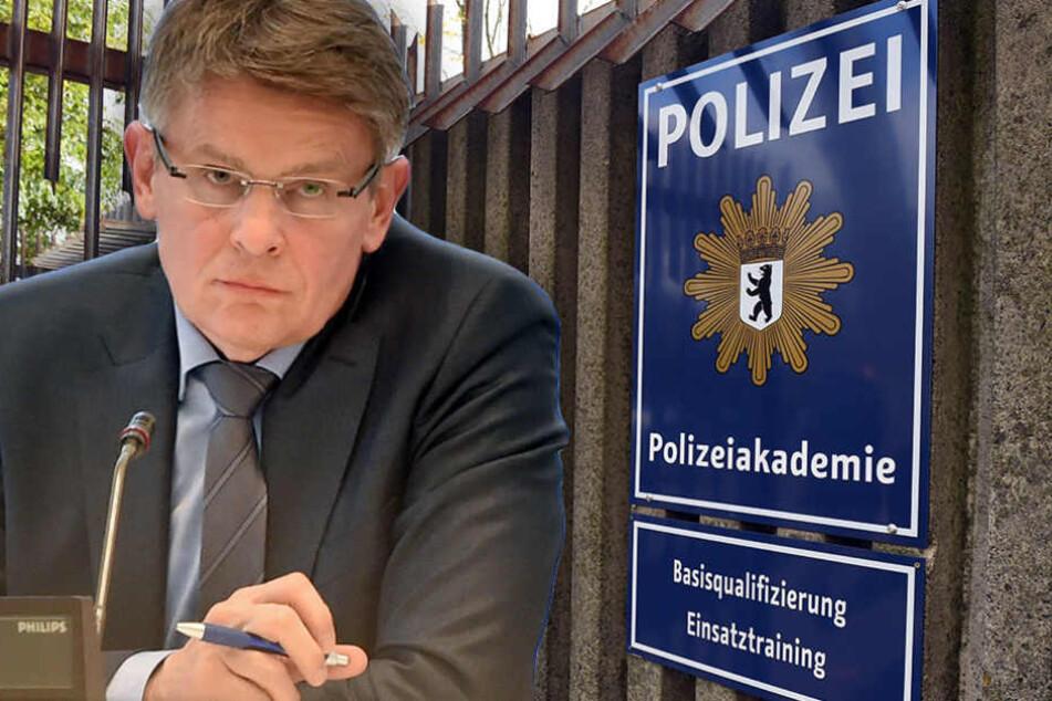 Polizeipräsident Klaus Kandt wies die Vorwürfe zurück.