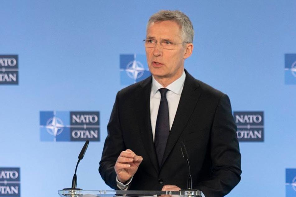 Nato-Generalsekretär Jens Stoltenberg (61).