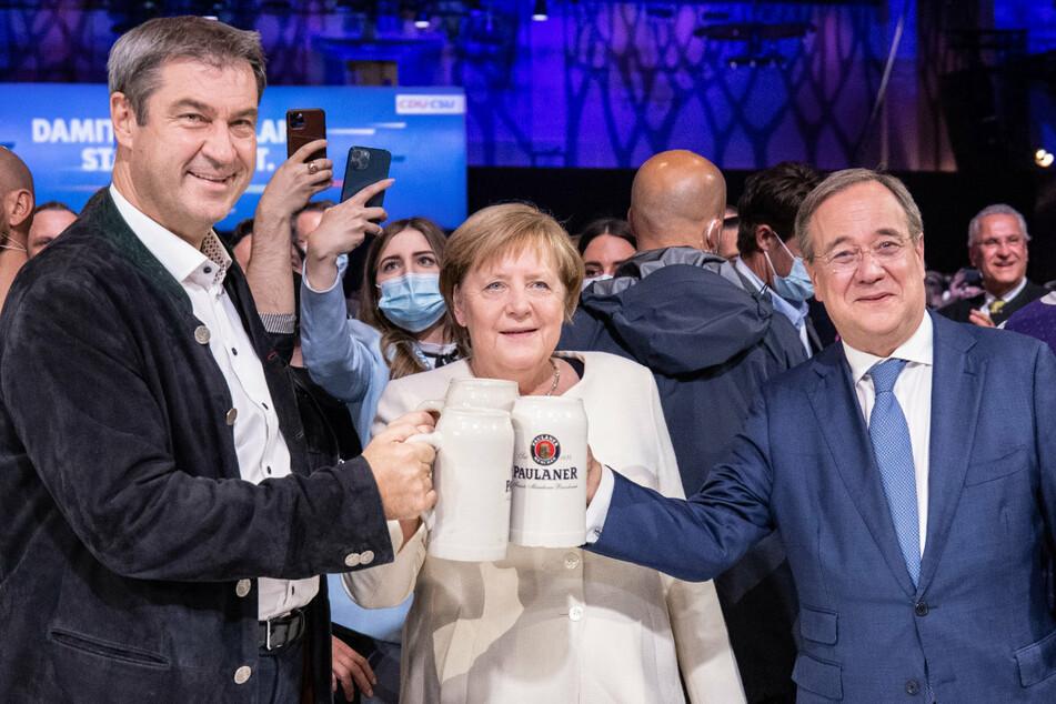Hoffen bis zum Showdown: CDU und CSU kämpfen ums Kanzleramt