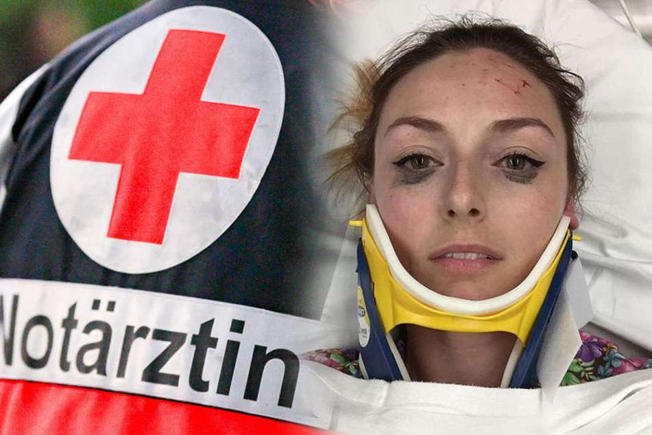 Junge Frau ist in Autounfall verwickelt: Was sie dann macht, überrascht alle