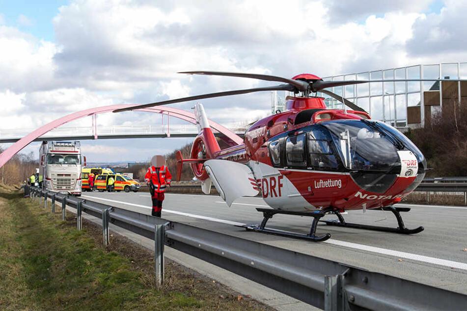 Unfälle auf der A38: Autobahn ist wieder frei: Mehrere Verletzte