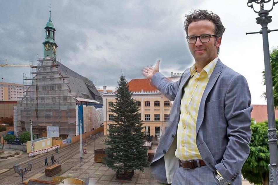 Baustelle Gewandhaus: Das  15-Millionen-Prestigeobjekt kommt nicht aus den Negativ-Schlagzeilen heraus. Sebastian Thaut (39) wurde als Architekt entlassen.