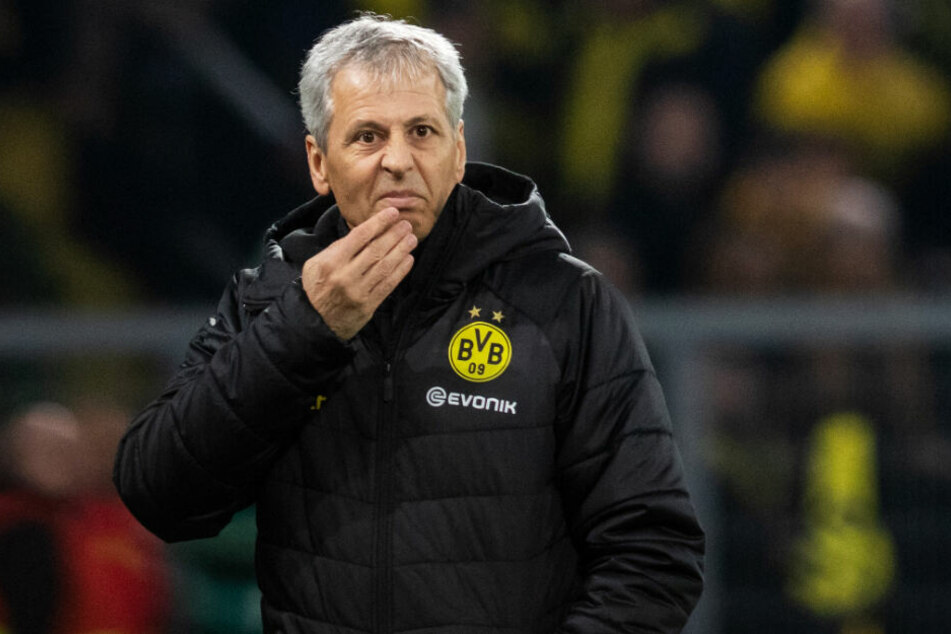 BVB-Coach Lucien Favre steht vor dem Spiel mit seinem früheren Klub Borussia Mönchengladbach unter Druck.