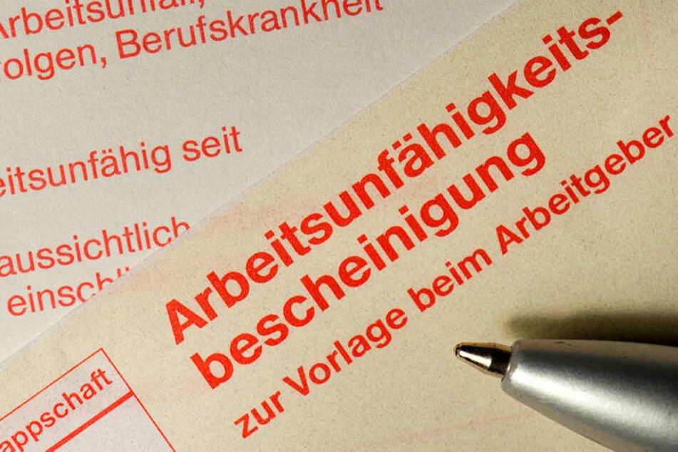 Berliner Beamte haben sich im Jahr 2016 häufig krankschreiben lassen.
