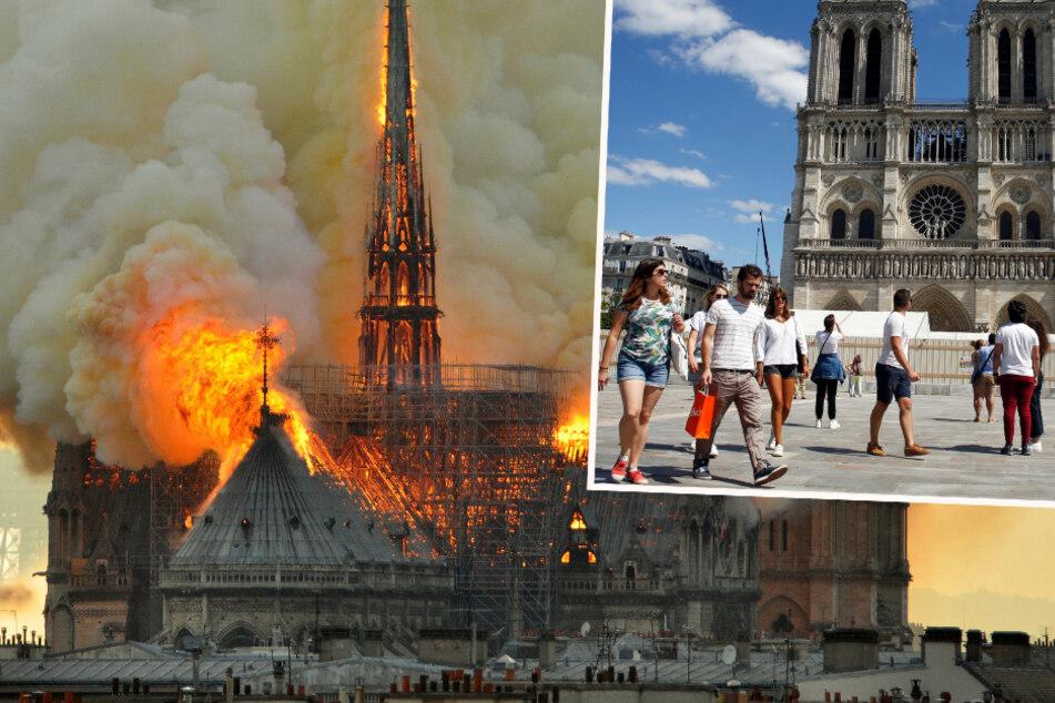 Ein Jahr nach Feuerinferno: Notre-Dame macht Schritt zur Normalität
