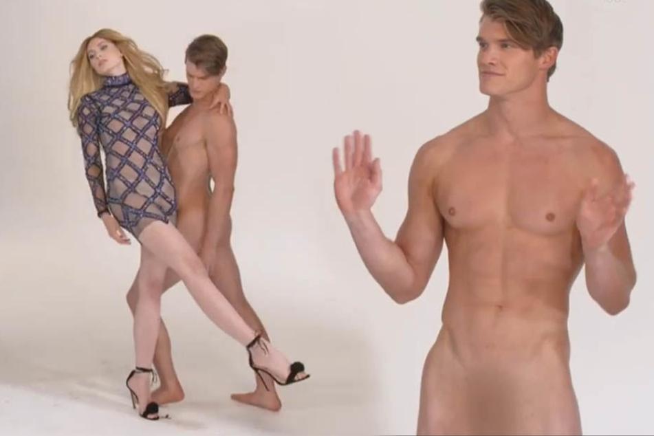 Nackter Mann bei Heidi Klum... und viele Mädchen waren komplett überfordert