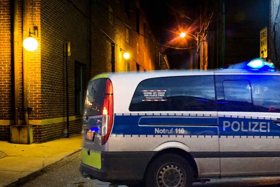 Der Mann lag mitten in der Nacht in der Innenstadt auf der Straße (Symbolbild).