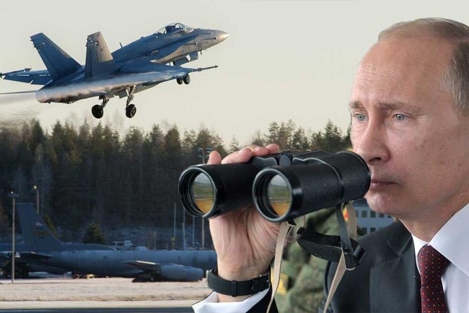 NATO-Manöver provoziert Russland: Putin plant Raketen-Abschüsse